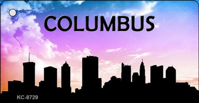 Columbus Silhouette Wholesale Key Chain KC-8729