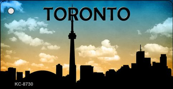 Toronto Silhouette Wholesale Key Chain KC-8730