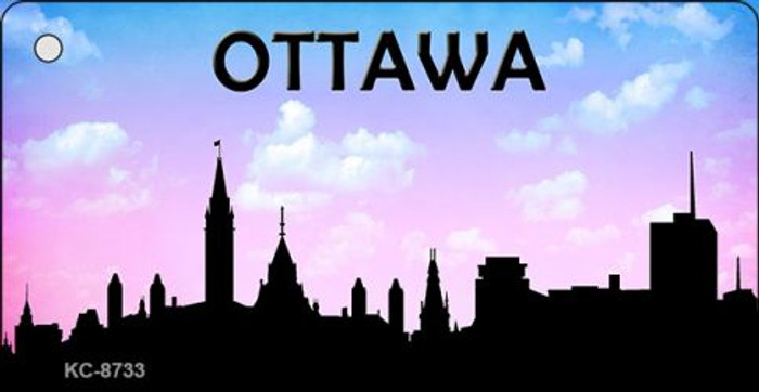 Ottawa Silhouette Wholesale Key Chain KC-8733
