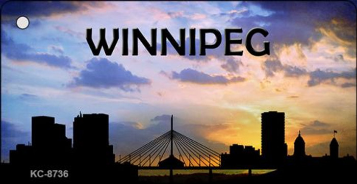 Winnipeg Silhouette Wholesale Key Chain KC-8736