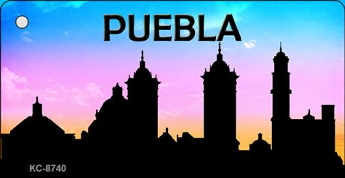 Puebla Silhouette Wholesale Key Chain KC-8740