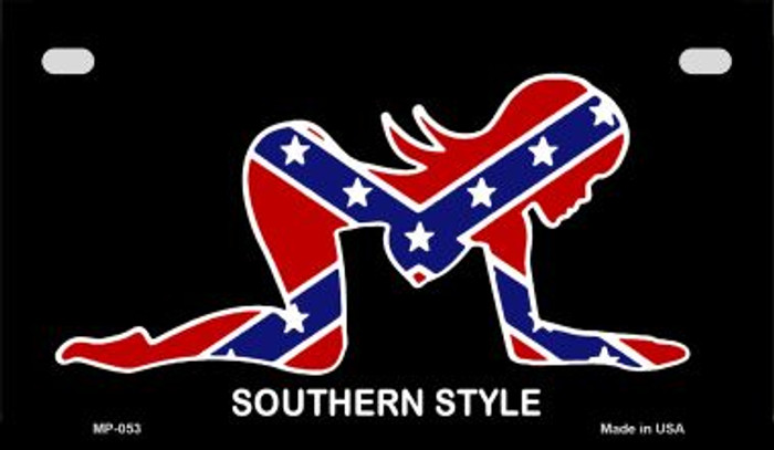Southern Style Novelty Wholesale Motorcycle License Plate MP-053