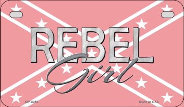 Rebel Girl Novelty Wholesale Motorcycle License Plate MP-8359