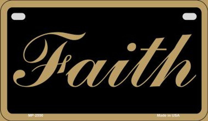 Faith Novelty Wholesale Motorcycle License Plate MP-2550