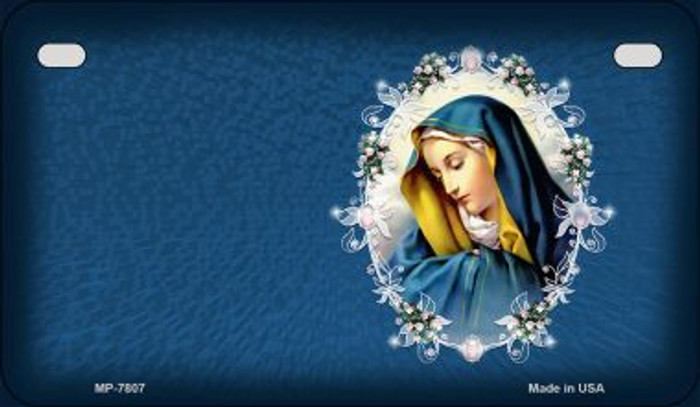 Virgin Mary Novelty Wholesale Motorcycle License Plate MP-7807