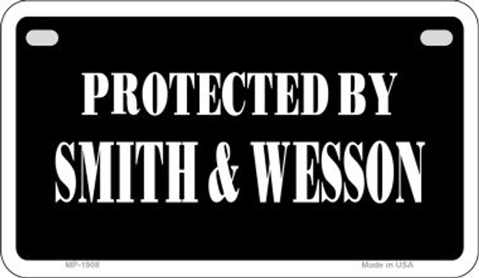 Smith and Wesson Wholesale Motorcycle License Plate MP-1908