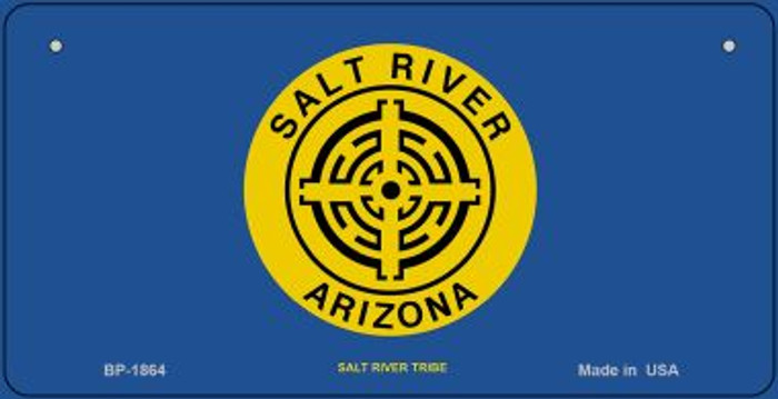 Salt River Tribe Novelty Wholesale Bicycle License Plate BP-1864