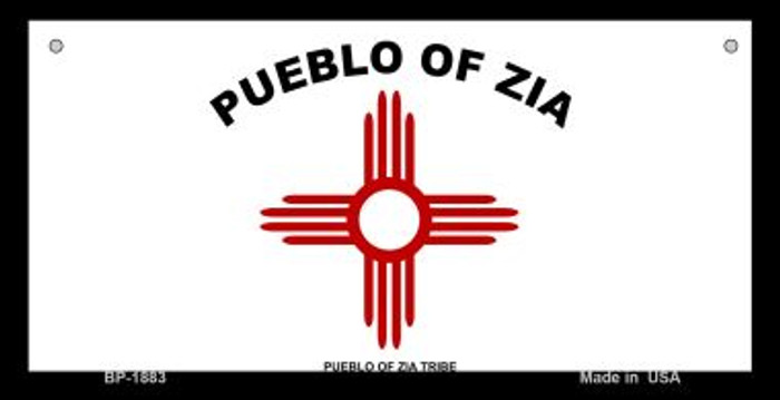 Zia Pueblo Novelty Wholesale Bicycle License Plate BP-1883