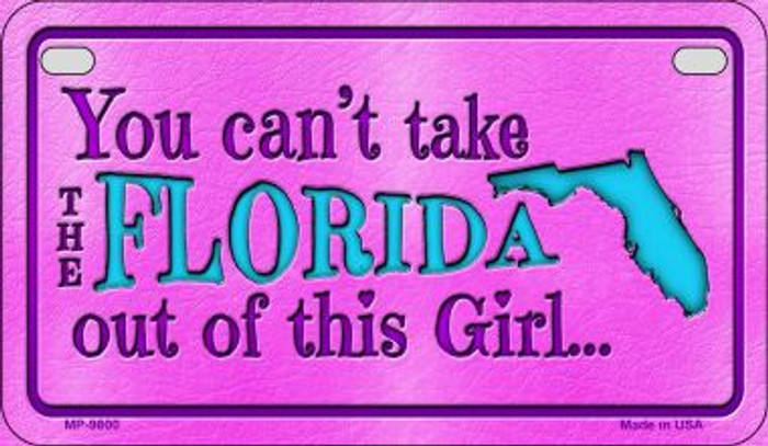 Florida Girl Wholesale Motorcycle License Plate MP-9800