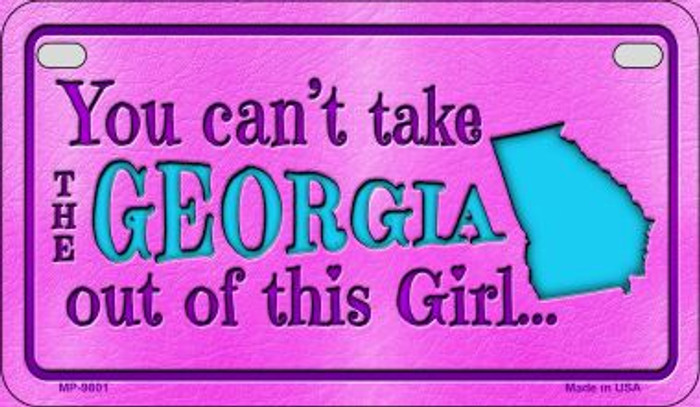 Georgia Girl Wholesale Motorcycle License Plate MP-9801