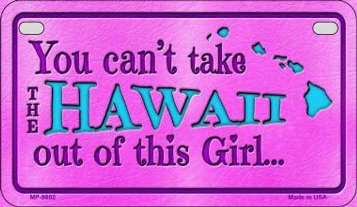 Hawaii Girl Wholesale Motorcycle License Plate MP-9802