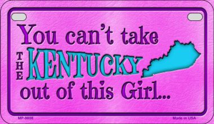 Kentucky Girl Wholesale Motorcycle License Plate MP-9808