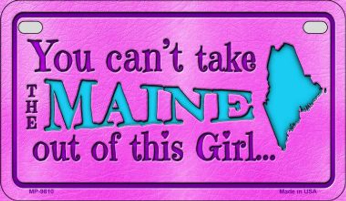 Maine Girl Wholesale Motorcycle License Plate MP-9810
