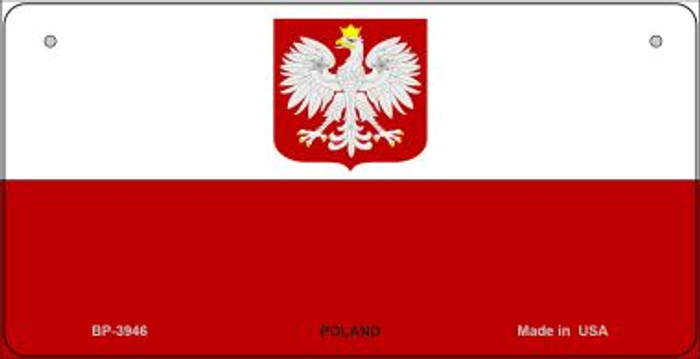 Poland / Eagle Flag Wholesale Novelty Bicycle Plate BP-3946