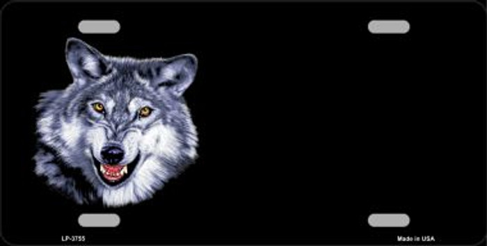 Wolf Offset Wholesale Metal Novelty License Plate LP-3755