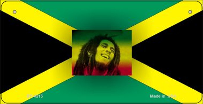 Jamaica / Bob Marley Flag Wholesale Novelty Bicycle Plate BP-4215