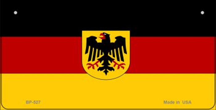 Germany Flag Wholesale Novelty Bicycle Plate BP-527