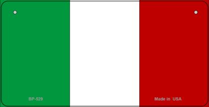 Italy Flag Wholesale Novelty Bicycle Plate BP-529