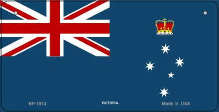 Victoria Flag Wholesale Novelty Bicycle Plate BP-1913