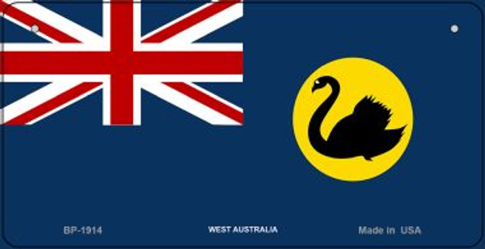 West Australia Flag Wholesale Novelty Bicycle Plate BP-1914