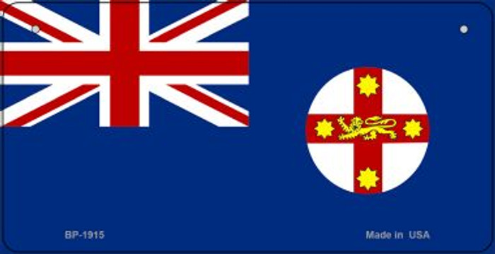South New Wales Flag Wholesale Novelty Bicycle Plate BP-1915