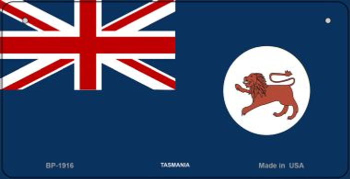Tasmania Flag Wholesale Novelty Bicycle Plate BP-1916