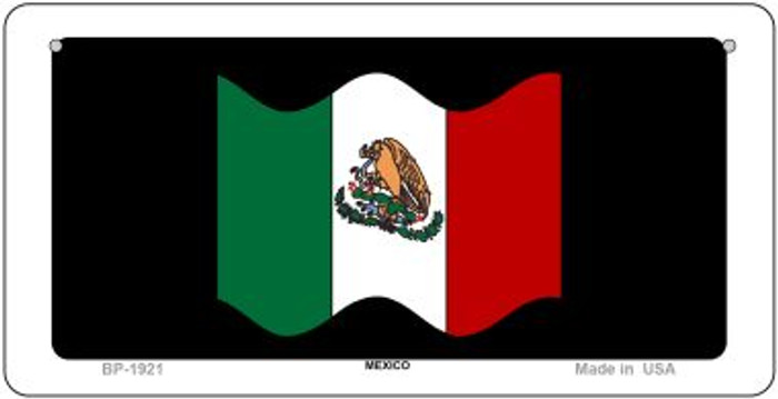 Mexico Waving Flag Wholesale Novelty Bicycle Plate BP-1921