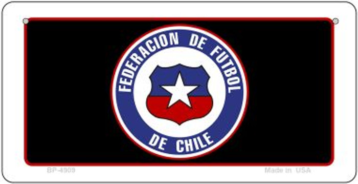 Federacion De Futbol De Chile Flag Wholesale Novelty Bicycle Plate BP-4909