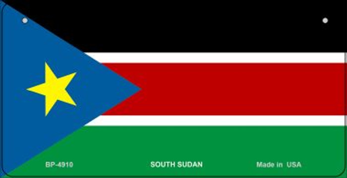 South Sudan Flag Wholesale Novelty Bicycle Plate BP-4910