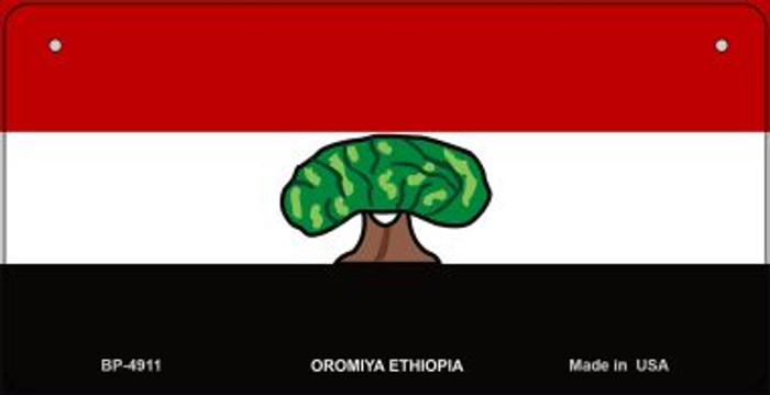 Oromiya Ethiopia Flag Wholesale Novelty Bicycle Plate BP-4911