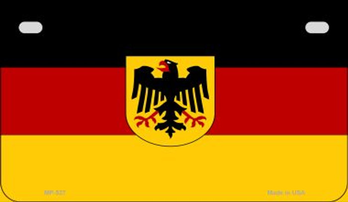 Germany Flag Wholesale Novelty Motorcycle Plate MP-527