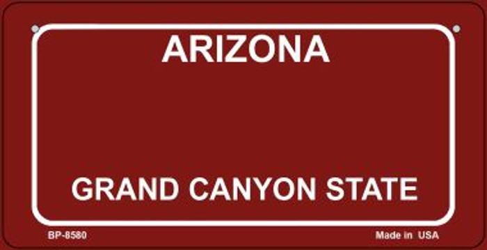 Arizona Red Blank Background Wholesale Novelty Bicycle Plate BP-8580