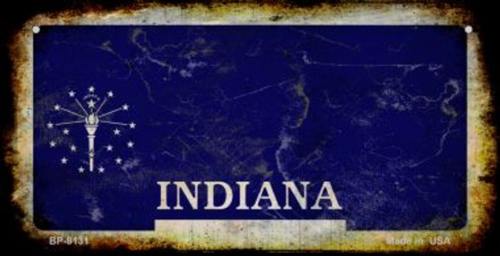 Indiana Rusty Blank Background Wholesale Novelty Bicycle Plate BP-8131