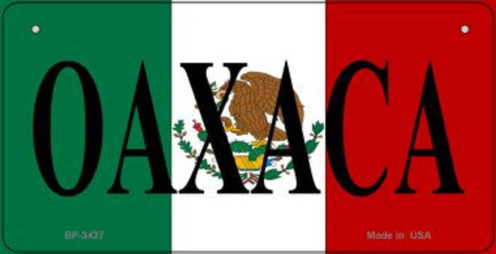 Oaxaca Mexico Flag Wholesale Novelty Bicycle Plate BP-3437