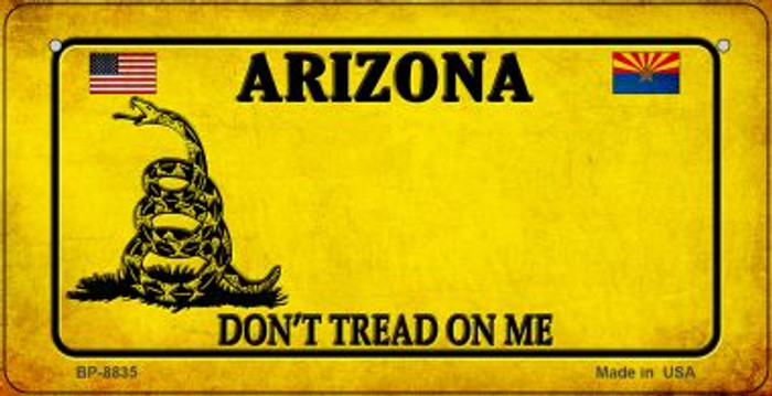 Arizona Do Not Tread Wholesale Novelty Bicycle Plate BP-8835