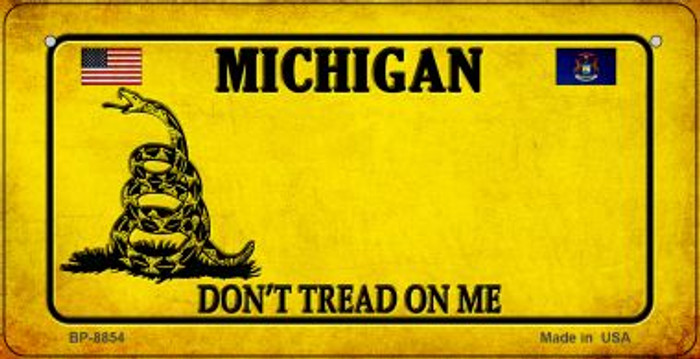 Michigan Do Not Tread Wholesale Novelty Bicycle Plate BP-8854