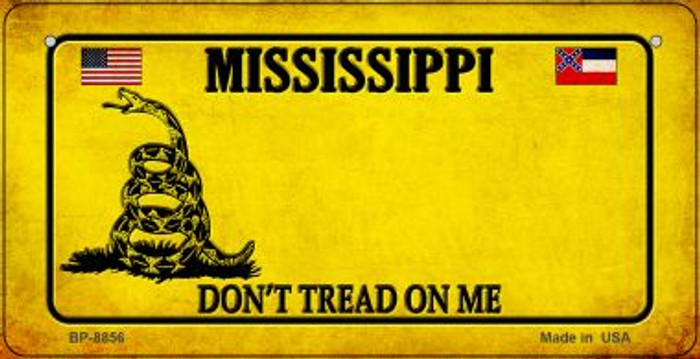 Mississippi Do Not Tread Wholesale Novelty Bicycle Plate BP-8856