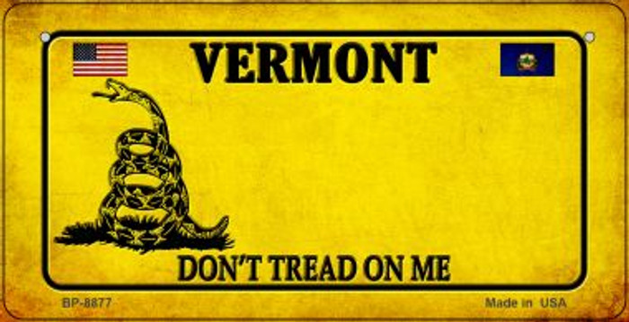 Vermont Do Not Tread Wholesale Novelty Bicycle Plate BP-8877