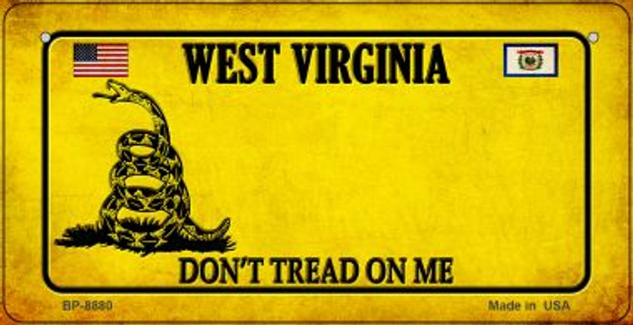 West Virginia Do Not Tread Wholesale Novelty Bicycle Plate BP-8880