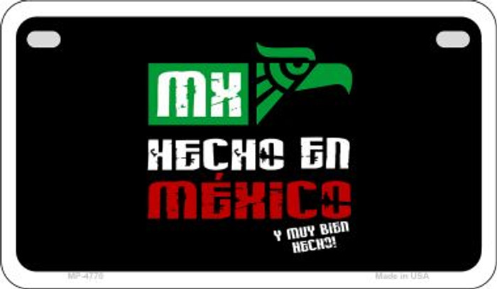 Made In Mexico Wholesale Novelty Motorcycle Plate MP-4770
