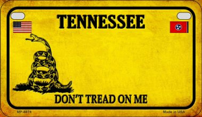 Tennessee Do Not Tread Wholesale Novelty Motorcycle Plate MP-8874