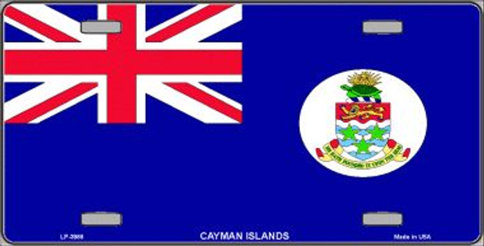 Cayman Islands Flag Wholesale Metal Novelty License Plate LP-3988