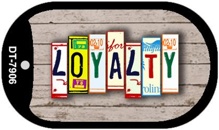 Loyalty Plate Art Wholesale Dog Tag Necklace DT-7906