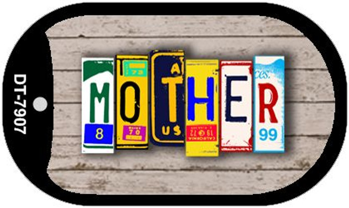 Mother Plate Art Wholesale Dog Tag Necklace DT-7907