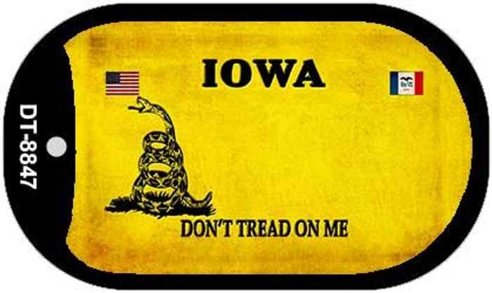 Iowa Do Not Tread Wholesale Dog Tag Necklace DT-8847