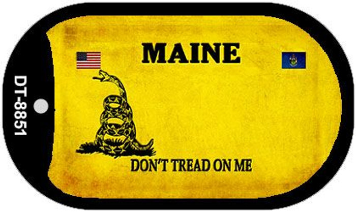 Maine Do Not Tread Wholesale Dog Tag Necklace DT-8851
