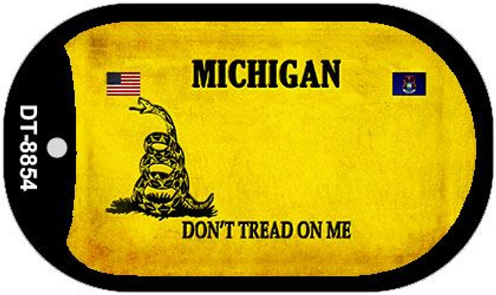 Michigan Do Not Tread Wholesale Dog Tag Necklace DT-8854