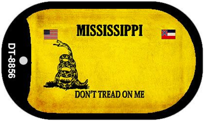 Mississippi Do Not Tread Wholesale Dog Tag Necklace DT-8856