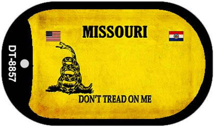Missouri Do Not Tread Wholesale Dog Tag Necklace DT-8857
