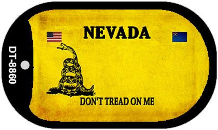 Nevada Do Not Tread Wholesale Dog Tag Necklace DT-8860